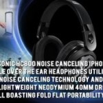 Panasonic HC800-Noise Canceling  iPhone Compatible Over the Ear Headphones