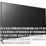 Sony HDTV KDL70W850-70-inch Sony LED TV