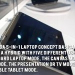 Toshiba 5-in-1 laptop concept