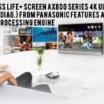 58 Class Life+ Screen AX800 Series 4K Ultra HD TV