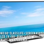 60 Class Life+ Screen AS650 Series 3D Smart LED LCD TV